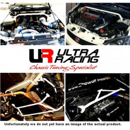 Honda Accord 3.0 97-02  2D Ultra Racing 4 Points Barre inférieure avant