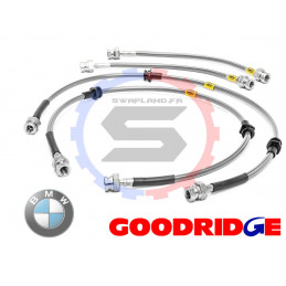 Durite aviation Goodridge pour BMW 316-318(E30) (NOT 323) Ar Tambour 1982 - 1991