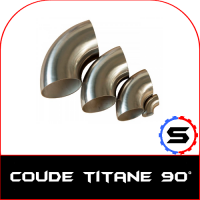 Coude titane 90° - SWAPLAND